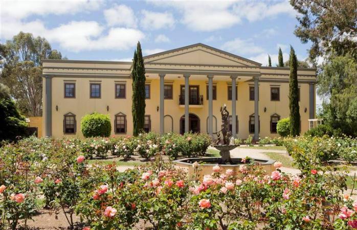 romantic getaways adelaide - barossa chateau