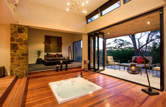 romantic getaways melbourne - kudos villas