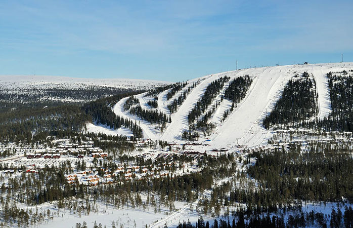 Sweden's Sälen sort: perfect for a family ski holiday