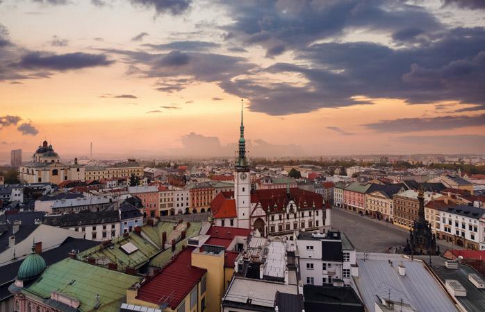 On to Olomouc, one of the Czech Republic's prettiest cities