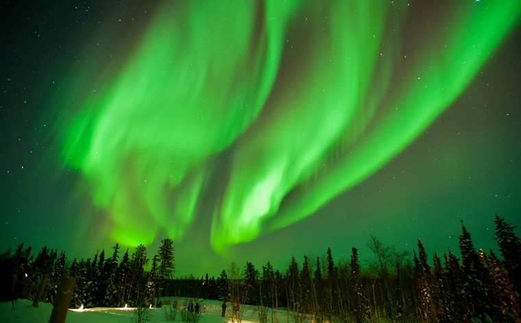 Colourful night skies: the best places to see the Northern Lights