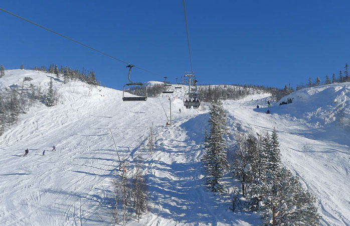 Hit the slopes at Hemsedal ski resort