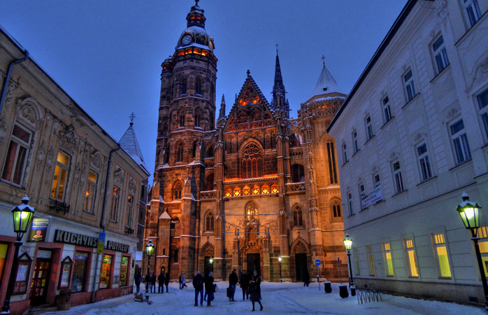Košice – Slovakia's second largest city, but number one when it comes to style