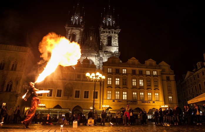 Staré Město – Prague's medieval old town, and a real charmer despite the crowds
