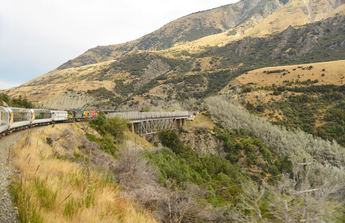 Traverse the world famous nature of New Zealand with the TranzAlpine