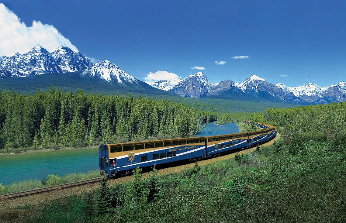 Experience the Canadian Rockies with the Rocky Mountaineer