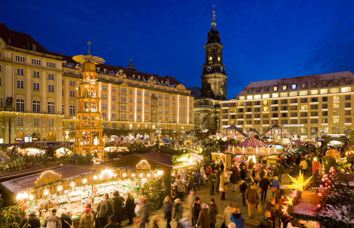 Dresden's Striezelmarkt is Germany's oldest Christmas market