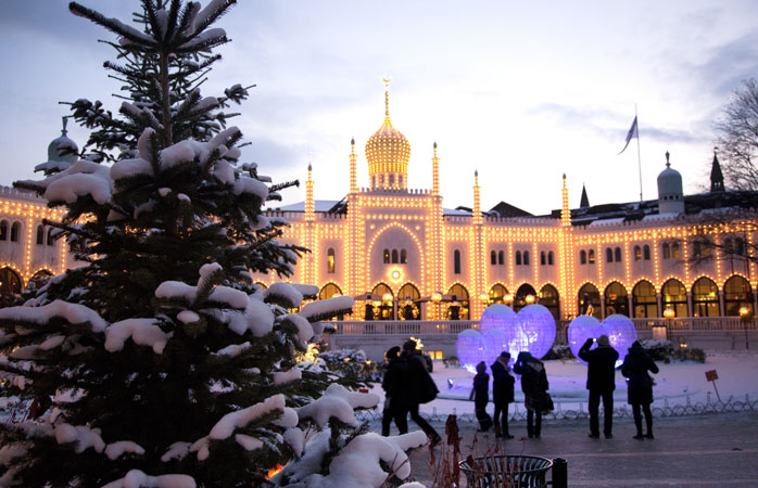 Tivoli - a quaint, idyllic location for one of Copenhagen's best Christmas markets