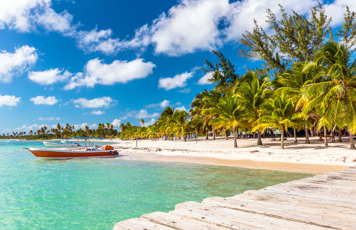 Tropical beaches and island are easy to find at Punta Cana